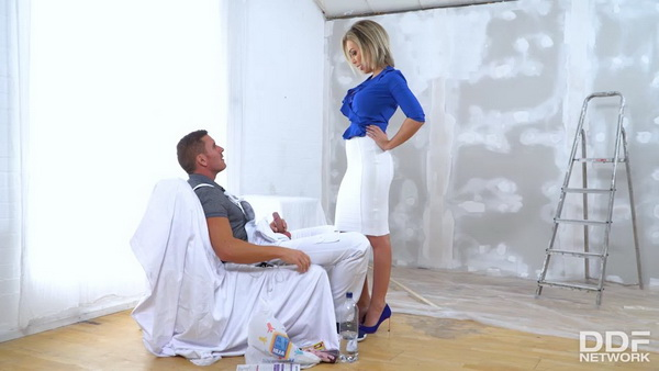 Chessie Kay - Coating Tits With Cum